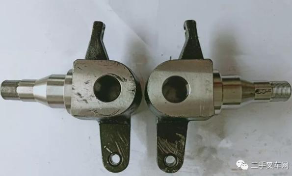 二手叉车转向节坏了应如何修理?