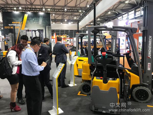新品 永恒力EFG M 系列电动叉车